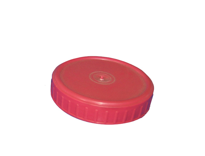 Glass jar plastic lid