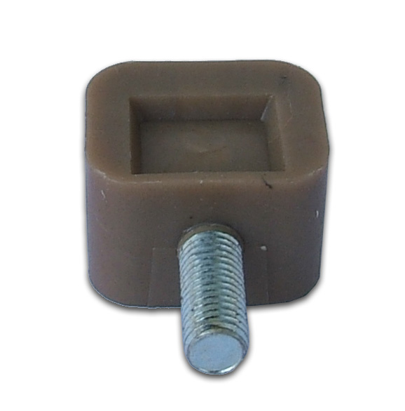 Plastic part for remo walls with screw